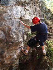 Râușor, climbing lesson, Photo: PNR