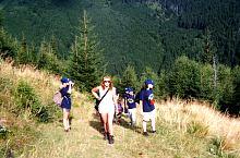 To the Lolaia ridge, Photo: Florin Hălăștăuan