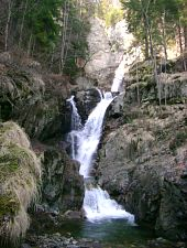 Ciumfu waterfall, Photo: Complex Cheile Butii