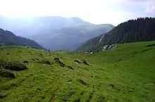 A Iorgovan kő és Albele csúcs között., Fotó: Bogdan Danciu