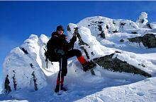 Colții Pelegii iarna, Foto: Gianina Stepan
