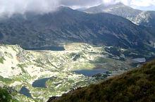 Bucura basin, with the lakes Bucura, Lia, Ana, Viorica and Florica, Photo: Radu Dârlea