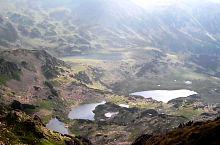Florica lakes, Viorica and Ana, and up Bucura, Photo: Anghel Nichi