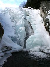Cascada Lolaia iarna, Foto: Alexandru Moțoc
