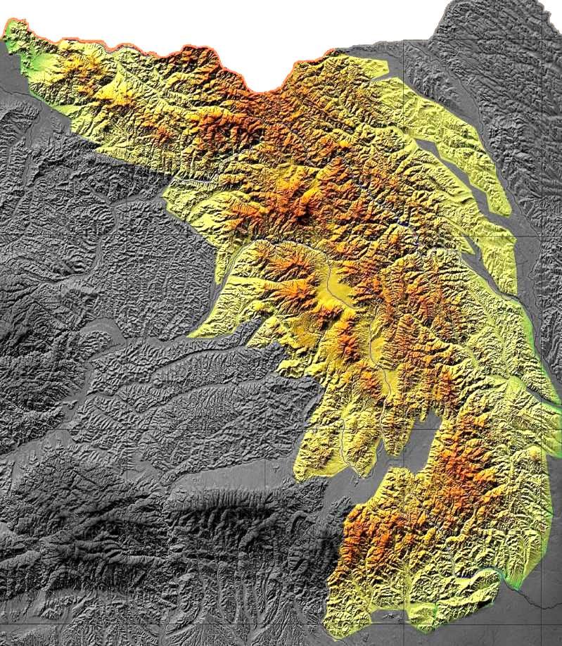 Carpatii Orientali Harta Interactiva Muntii Care Alcatuiesc