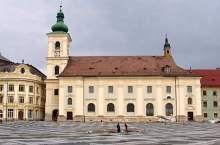 Biserica Catolica, Sibiu, Foto: Ovidiu Sopa