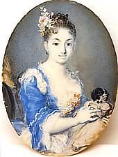Pinoteca Brukenthal, Rosalba Carriera: Portretul unei tinere femei