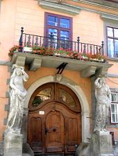 Casa cu cariatide, Sibiu