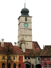 Turnul Sfatului, Sibiu, Foto: Ovidiu Sopa