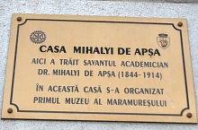 Mihalyi de Apsa emlékház, Máramarossziget., Fotó: WR