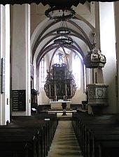 Biserica Manastiri, Sighisoara, Foto: Wilhelm Fabini