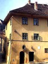 Dracula háza, Segesvár.