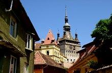 Középkori vár, Segesvár., Fotó: Mezei Elemér