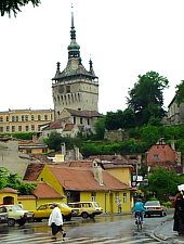 Turnul cu ceas, Sighisoara, Foto: Daniel Stoica
