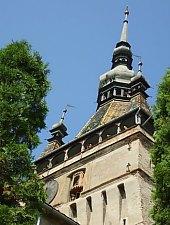 Turnul cu ceas, Sighisoara, Foto: Hetei Gábor