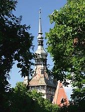 Turnul cu ceas, Sighisoara, Foto: Michael Bodea