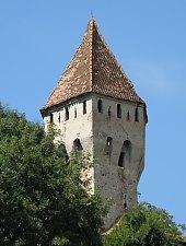 Ónművesek tornya, Segesvár., Fotó: Mezei Elemér