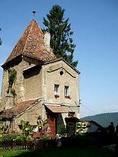 Segesvár, Kötélsodrók tornya, Fotó: Hetei Gábor