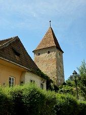 Mészárosok tornya, Segesvár., Fotó: Mezei Elemér