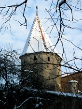 Mészárosok tornya, Segesvár., Fotó: Segesvári városháza