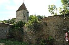 Segesvár, Mészárosok tornya, Fotó: Mezei Elemér
