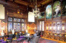 Peles castle, The old music hall, Photo: Ion Voicu