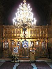 A Nagytemplom,  Az ikonosztáz, Fotó: pr. Mihail Nagy