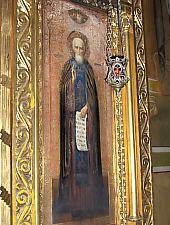 A Nagytemplom,  Orosz ikon Szent Serghei, Fotó: pr. Mihail Nagy