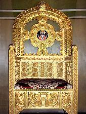 Great Church, Pontificial chair, Photo: pr. Mihail Nagy