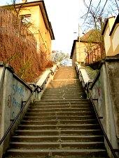 Rákóczi lépcső, Marosvásárhely., Fotó: Gyerkó Ferenc