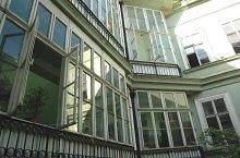 Academic library, Ormos house, Timișoara·, Photo: Sergiu Stefanov