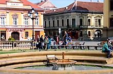 Union Square fountain, Timișoara·, Photo: Georgiana Coroviță