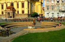 Union Square fountain, Timișoara·, Photo: Marian Ghibu