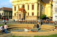 Fantana din Piata Unirii, Timisoara, Foto: Marian Ghibu