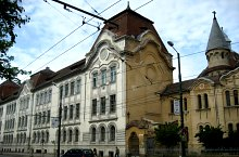 Piarista gimnázium, Temesvár., Fotó: Niculina Olaru