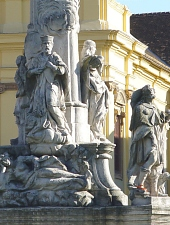 Statuia Sfanta Treime sau Statuia de ciuma, Timisoara, Foto: Mircea Vâlcu